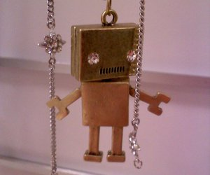 necklace and robot image
