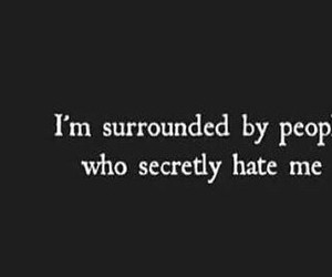 hate, people, and life quotes image