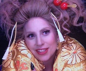 geisha, japan, and Lady gaga image