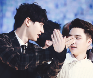 exo, chanyeol, and chansoo image