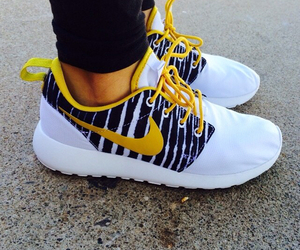 nike, roshe, and nike roshe run image