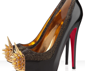 louboutin, shoes, and spikes image