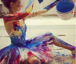 art, color, and dance image