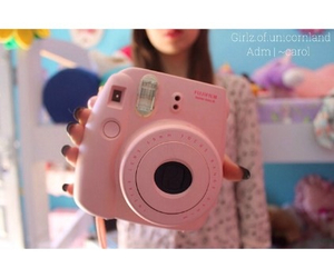 pink, polaroid, and quality image