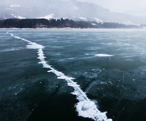 ice, nature, and ocean image