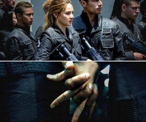 4, love, and divergent image