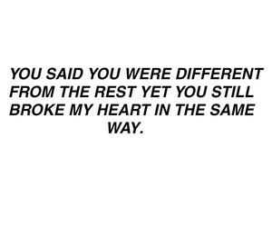 heart, different, and quotes image