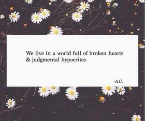 broken, hearts, and sad image