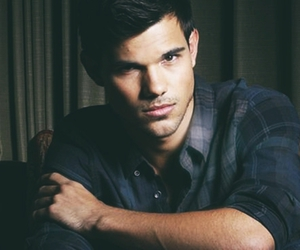 boy and Taylor Lautner image