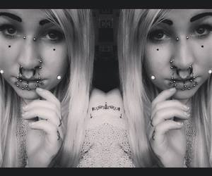 blonde, septum, and melanie massacer image