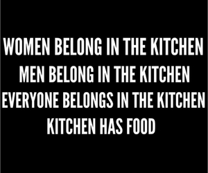 food, kitchen, and men image