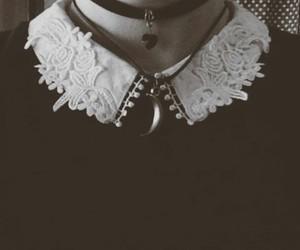 grunge, black, and necklace image