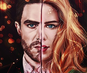 oliver queen and olicity image