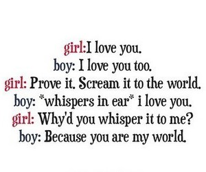 love, boy, and world image