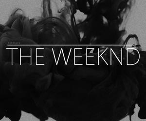 the weeknd, smoke, and black image