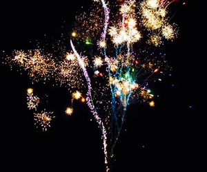 fireworks, color, and night image