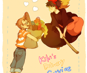 kiki and witch image