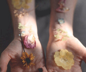alternative, flower, and hipster image