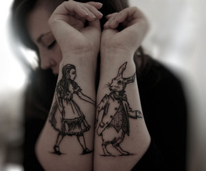 tattoo and alice image