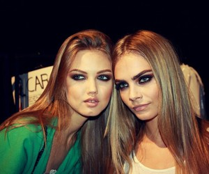 model, cara delevingne, and lindsey wixson image
