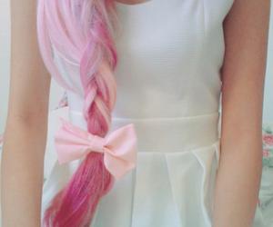 girl, pink, and cool image