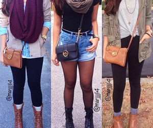 outfit, fashion, and fall image