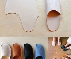 diy, slippers, and shoes image