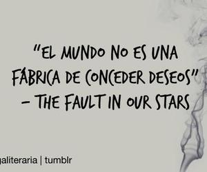 bajo la misma estrella, the fault in our stars, and book image