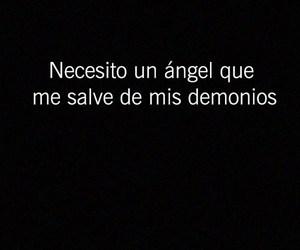 angel, demonios, and frases en español image