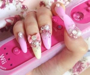 kawaii, nail art, and nails image