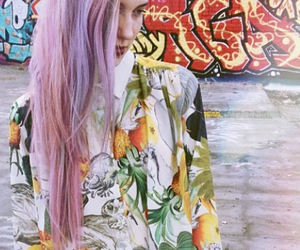 clothes, indie, and hair color image