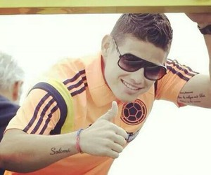 colombia, james rodriguez, and Hot image