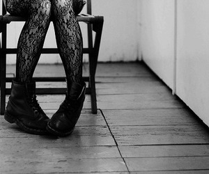 boots, tights, and shoes image
