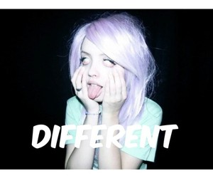 different and grunge image