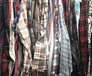 background, checkered, and closet image