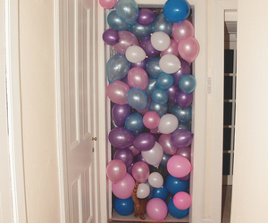 balloons, dude, and lol image