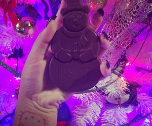 chocolate, christmas, and colors image