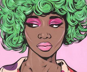 pop art, art, and green image