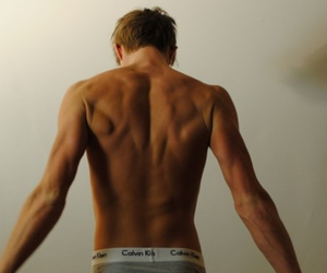 back, muscles, and boy image