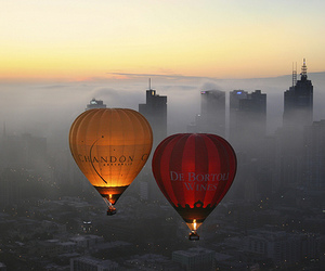 hot air balloon, hollisterhousecontest, and photography image