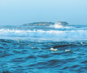 sea, blue, and photography image