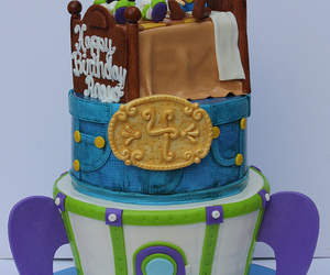 cake, photography, and toy story image