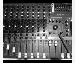 black-and-white, mute, and sound image