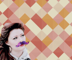 belle, ouat, and mustache image