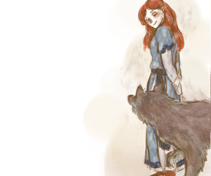 art, lady, and game of thrones image