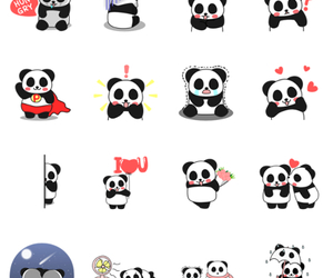 panda, pandas, and cute image