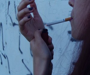cigarette, pale, and softgrunge image