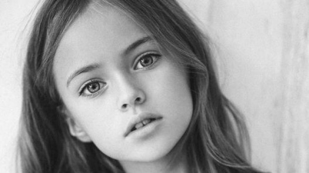 black and white, kid, and model image