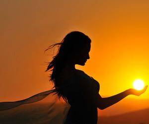 sun and sunset image