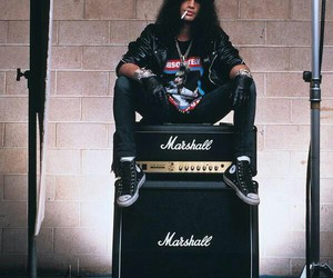 slash, Guns N Roses, and rock image